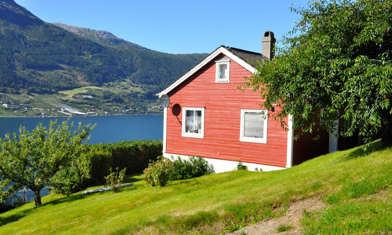 Hardanger Kinsarvik Lutro Hytte 12