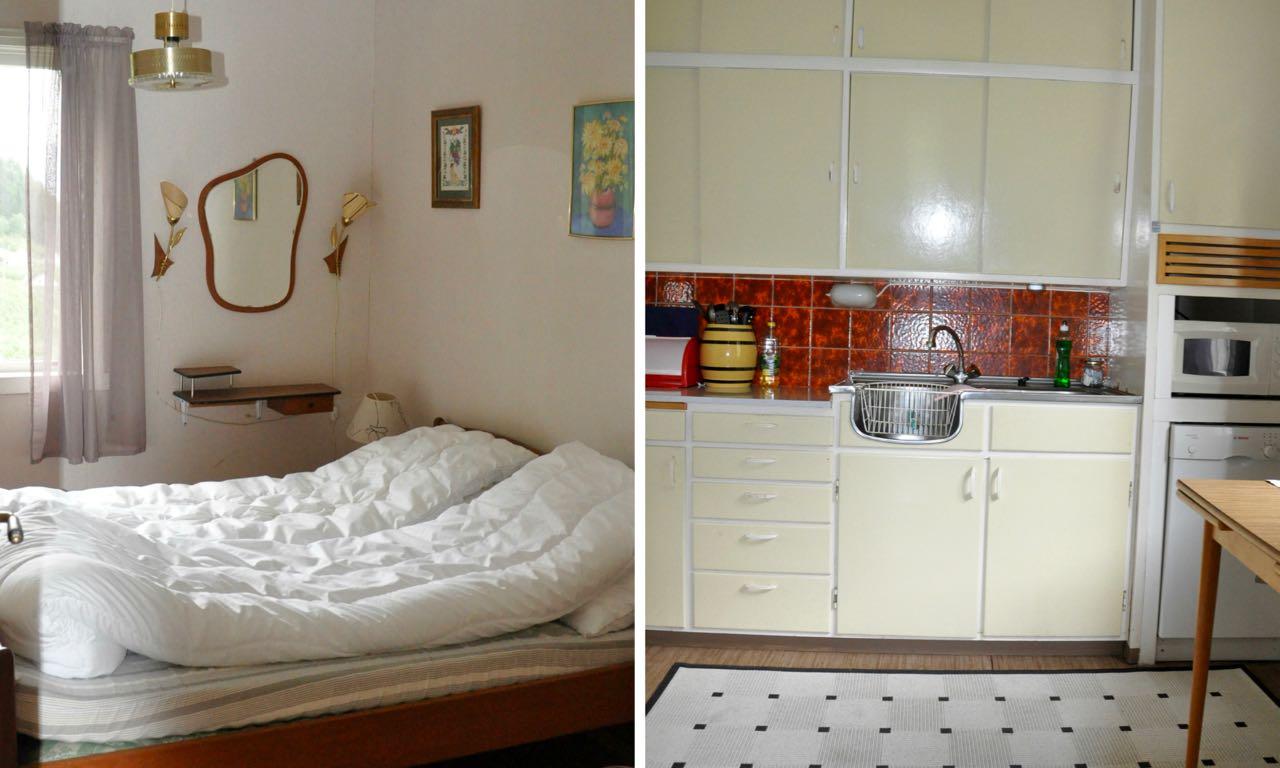 Solhaug soverom og kjøkken